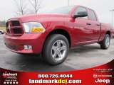 2012 Deep Cherry Red Crystal Pearl Dodge Ram 1500 Express Quad Cab #61537685