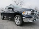 True Blue Pearl Dodge Ram 1500 in 2012