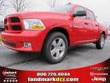2012 Flame Red Dodge Ram 1500 Express Crew Cab #61537679