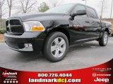 2012 Black Dodge Ram 1500 Express Crew Cab #61537678
