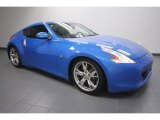 2009 Monterey Blue Nissan 370Z Sport Touring Coupe #61537896
