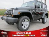 2012 Black Jeep Wrangler Sport 4x4 #61537650