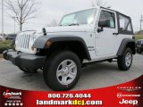 2012 Bright White Jeep Wrangler Sport 4x4 #61537649
