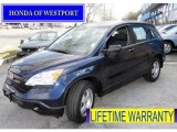 2009 Royal Blue Pearl Honda CR-V LX 4WD #61537618