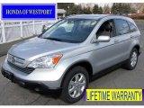 2009 Alabaster Silver Metallic Honda CR-V EX-L 4WD #61537616