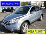 2010 Glacier Blue Metallic Honda CR-V EX-L #61537613