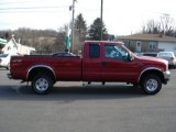 2002 Toreador Red Metallic Ford F250 Super Duty XLT SuperCab 4x4 #61538073