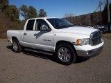 2005 Bright White Dodge Ram 1500 SLT Quad Cab #61537592