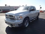 2012 Bright Silver Metallic Dodge Ram 1500 Big Horn Quad Cab #61537827