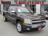 2010 Taupe Gray Metallic Chevrolet Silverado 1500 LT Extended Cab #61537570