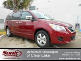 2012 Deep Claret Red Metallic Volkswagen Routan SEL Premium #61538039