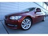 2011 Vermillion Red Metallic BMW 3 Series 328i xDrive Coupe #61537554