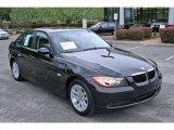 2007 Jet Black BMW 3 Series 328i Sedan #6147238