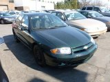 2003 Dark Green Metallic Chevrolet Cavalier LS Sedan #61537521