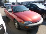 1999 Cayenne Red Metallic Chevrolet Cavalier Coupe #61537512