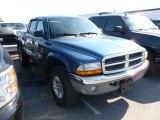 2004 Atlantic Blue Pearl Dodge Dakota SLT Quad Cab 4x4 #61537510