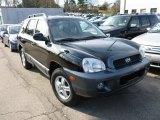 2003 Black Obsidian Hyundai Santa Fe LX 4WD #61537506