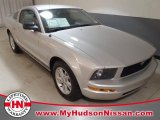 2005 Satin Silver Metallic Ford Mustang V6 Deluxe Coupe #61537360