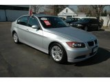 2008 Titanium Silver Metallic BMW 3 Series 328i Sedan #6138833