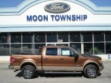 2012 Golden Bronze Metallic Ford F150 Lariat SuperCrew 4x4 #61537727