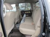 2012 Dodge Ram 1500 Mossy Oak Edition Crew Cab 4x4 Rear Seat