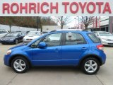2007 Techno Blue Metallic Suzuki SX4 Convenience AWD #61581026