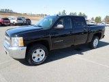 2012 Black Chevrolet Silverado 1500 LT Crew Cab 4x4 #61580691