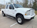 2004 Oxford White Ford F250 Super Duty XLT Crew Cab 4x4 #61581014