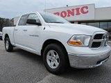 2011 Bright White Dodge Ram 1500 SLT Quad Cab #61580335
