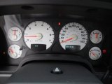 2002 Dodge Ram 1500 SLT Regular Cab 4x4 Gauges