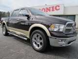 2011 Rugged Brown Pearl Dodge Ram 1500 Laramie Crew Cab 4x4 #61580331