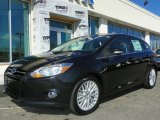 2012 Tuxedo Black Metallic Ford Focus SEL 5-Door #61580304