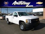 2012 Summit White Chevrolet Silverado 1500 Work Truck Regular Cab 4x4 #61580978