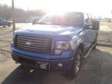 2012 Blue Flame Metallic Ford F150 FX4 SuperCrew 4x4 #61580637