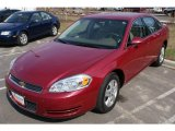 2006 Sport Red Metallic Chevrolet Impala LS #6147387