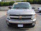2007 Graystone Metallic Chevrolet Silverado 1500 LT Extended Cab 4x4 #6138226