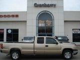 2004 Sandstone Metallic Chevrolet Silverado 1500 LT Extended Cab 4x4 #61580247