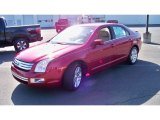 2008 Redfire Metallic Ford Fusion SEL V6 AWD #61580206