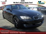 2008 Jet Black BMW 3 Series 335i Coupe #61580893