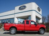 2012 Vermillion Red Ford F250 Super Duty XLT SuperCab 4x4 #61580154