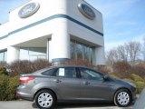 2012 Sterling Grey Metallic Ford Focus SE Sedan #61580142