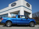 2012 Blue Flame Metallic Ford F150 XLT SuperCab 4x4 #61580135