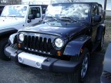 2012 Black Jeep Wrangler Sahara 4x4 #61580081