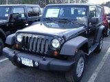 2012 Black Jeep Wrangler Sport 4x4 #61580080