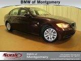 2007 Barrique Red Metallic BMW 3 Series 328i Sedan #61580445