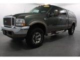2003 Estate Green Metallic Ford F250 Super Duty King Ranch Crew Cab 4x4 #61580041