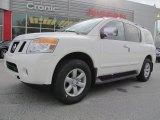 2012 Blizzard White Nissan Armada SV #61580423