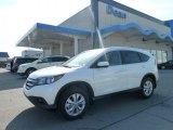 2012 White Diamond Pearl Honda CR-V EX-L 4WD #61580752