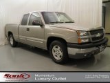 2003 Light Pewter Metallic Chevrolet Silverado 1500 LS Extended Cab #61580396
