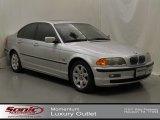2001 Titanium Silver Metallic BMW 3 Series 325i Sedan #61580395